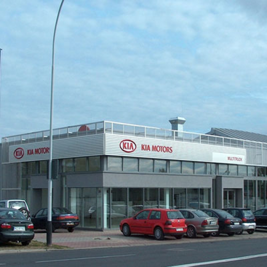 Salon samochodowy KIA