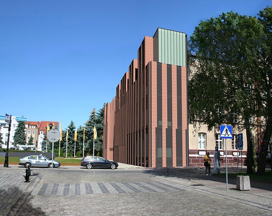 Rozbudowa urzędu miasta